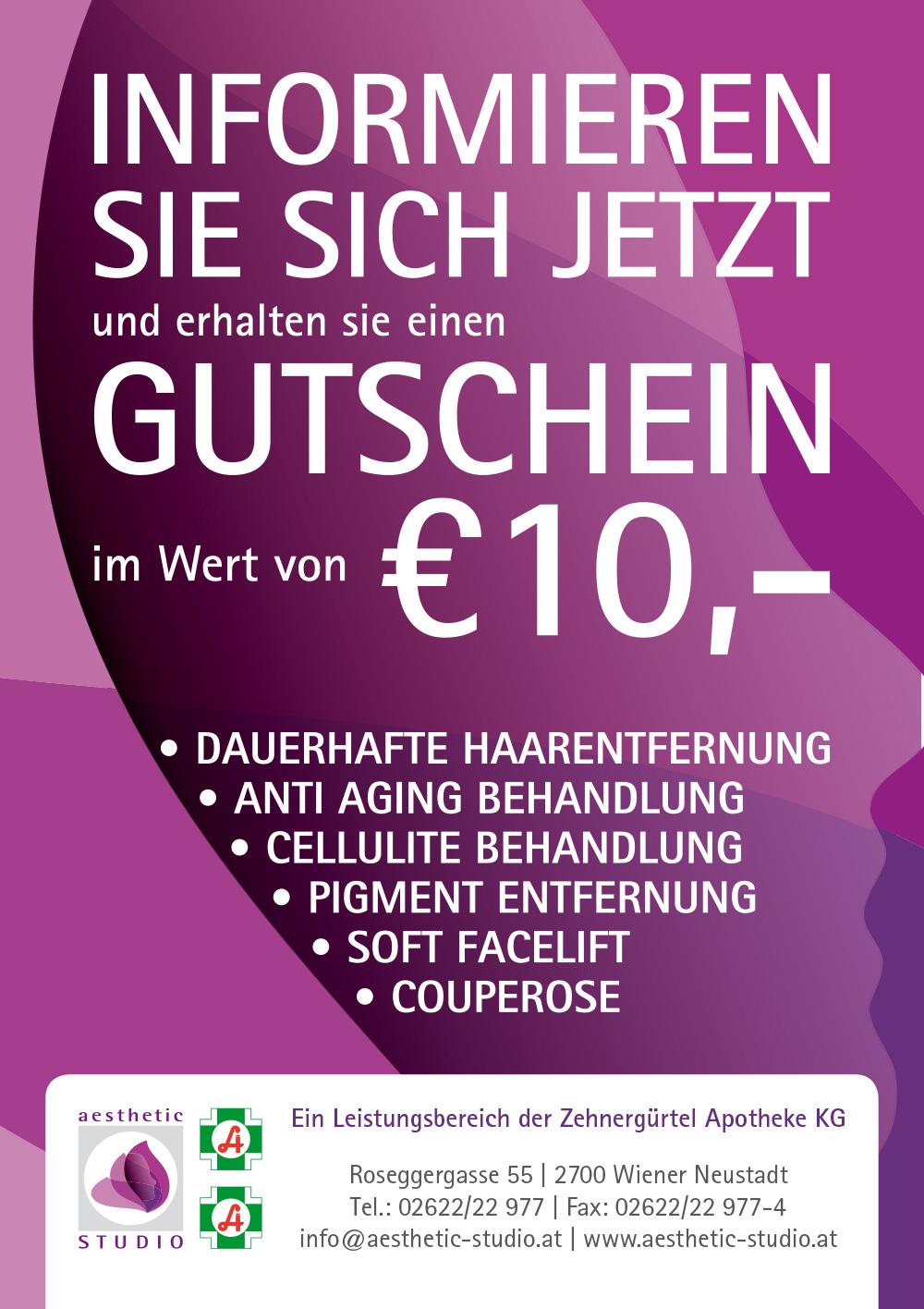 Aktueller Gutschein 10€