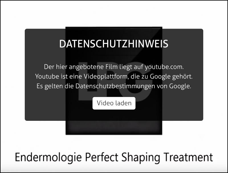 Endermologie Cellulite Behandlung - Sehen Sie das Video zu dieser erfolgreichen Behandlungsmethode